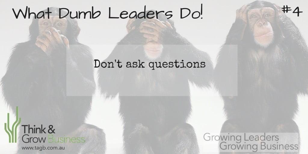 Dumb Leaders