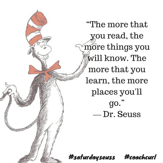 Dr Seuss - Coach Curl #saturdayseuss